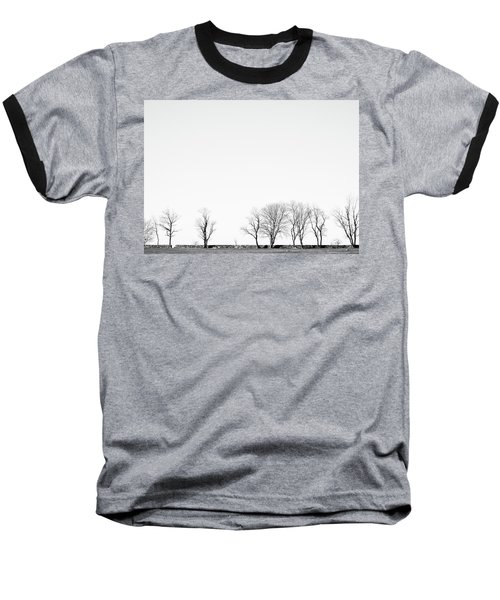 Under A Winter Sky Baseball T-Shirt
