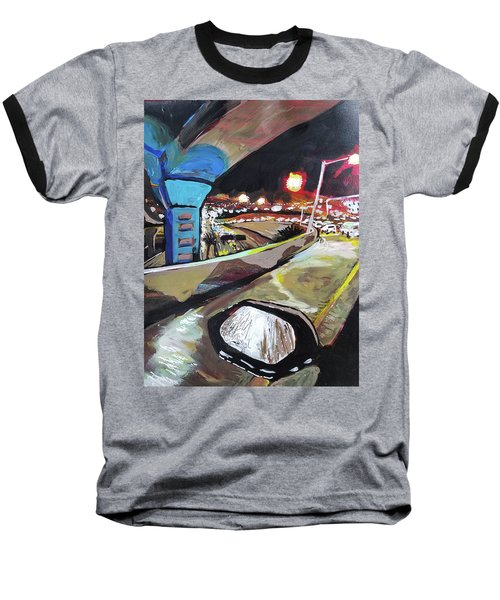 Underpass At Nighht Baseball T-Shirt