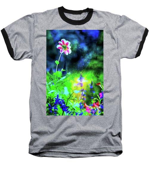Underwater Garden Abstract Baseball T-Shirt