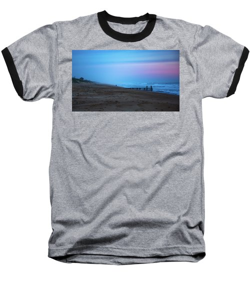Baseball T-Shirt featuring the photograph Up Before Sunrise by Lora J Wilson
