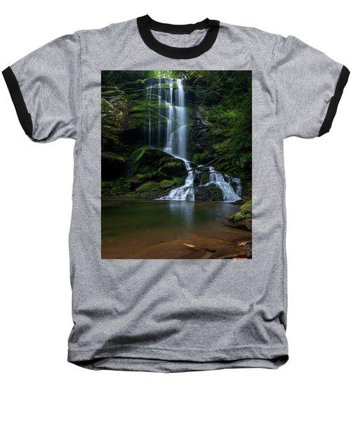 Upper Catawba Falls, North Carolina Baseball T-Shirt