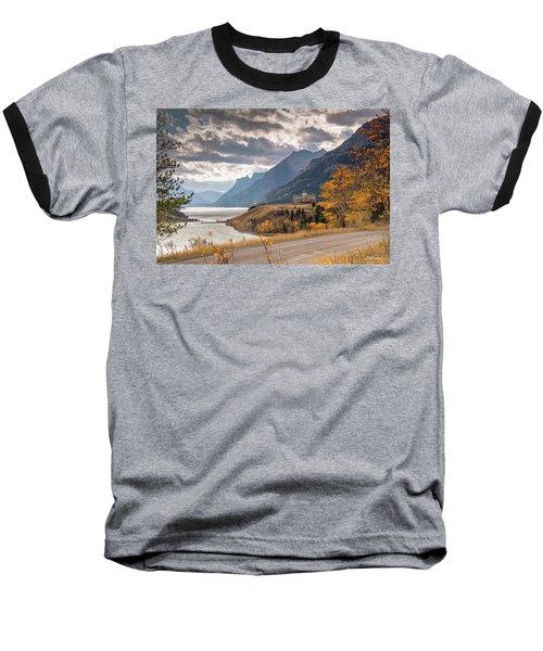 Upper Waterton Lakes Baseball T-Shirt