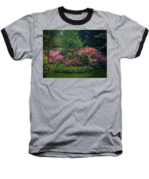 Urban Flower Garden Baseball T-Shirt