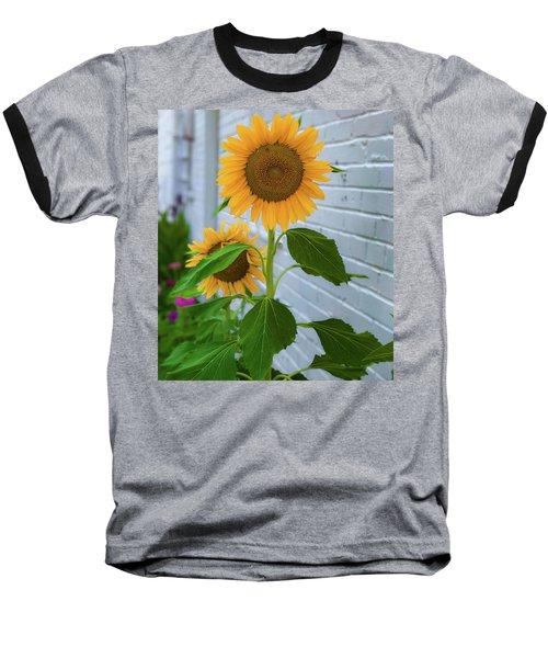 Urban Sunflower Baseball T-Shirt