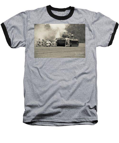 Us Army Forces Tank Battle Baseball T-Shirt