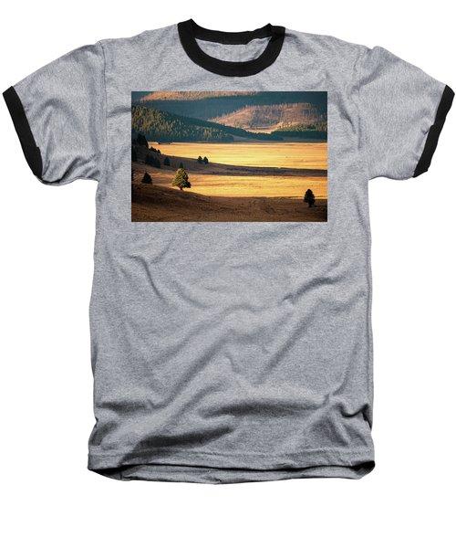 Valles Caldera Detail Baseball T-Shirt