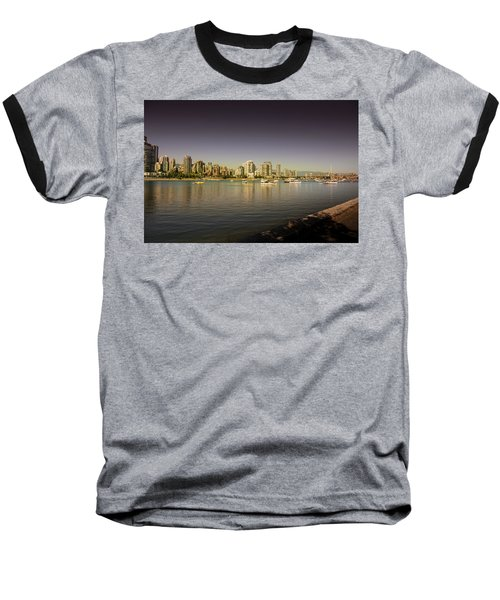 Vancouver In Magical Hours Baseball T-Shirt