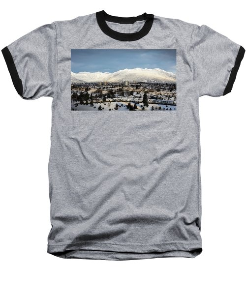 Vancouver Winterscape Baseball T-Shirt