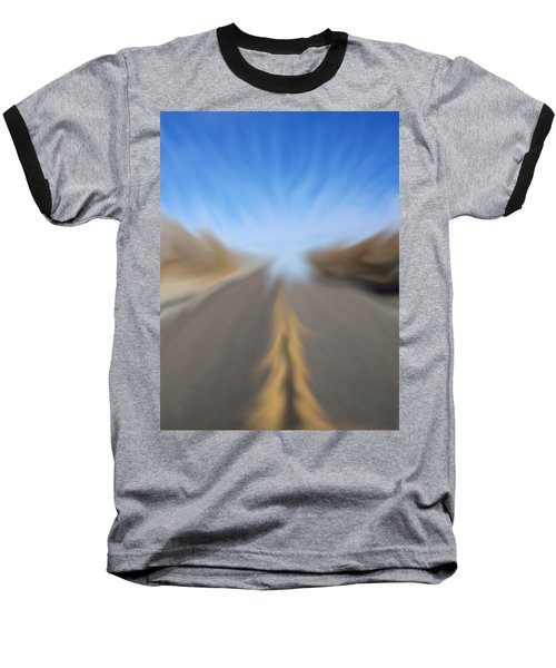 Vanishing Poiint Baseball T-Shirt