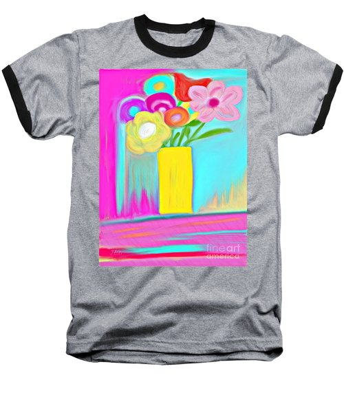 Vase Of Life Baseball T-Shirt