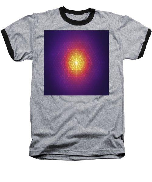Vector Equilibrium Baseball T-Shirt