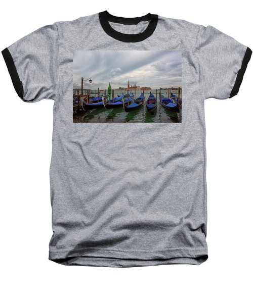 Venice Gondola's Grand Canal Baseball T-Shirt