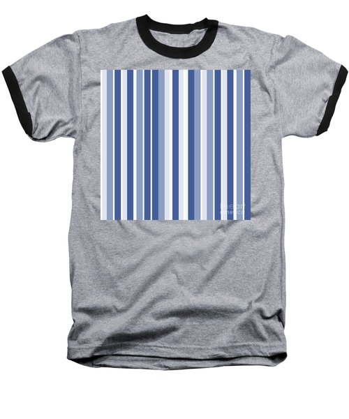 Vertical Lines Background - Dde605 Baseball T-Shirt