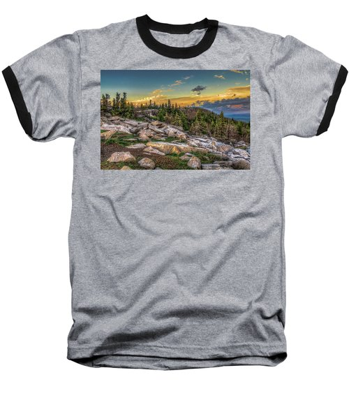 View From Dolly Sods 4714 Baseball T-Shirt
