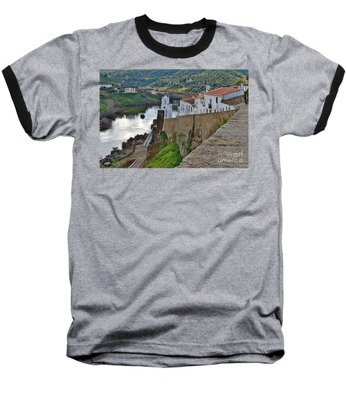 View From The Medieval Castle Baseball T-Shirt