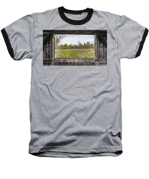 View Into Ohio's Nature Baseball T-Shirt