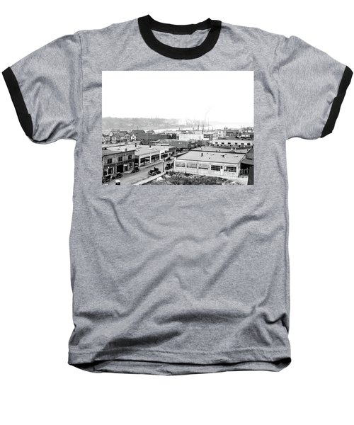 View Nw Over Olympia From Elks Building On Capitol Way 1929 Baseball T-Shirt