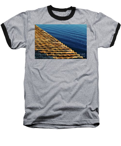 View Of The River From The Rooftop. Algarve Baseball T-Shirt