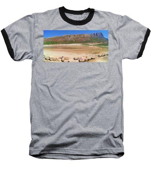 View To Gramvousa Baseball T-Shirt