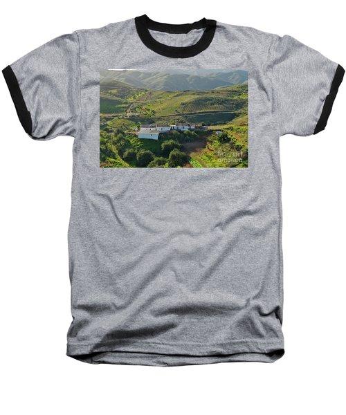 Village Hidden In The Mountains Baseball T-Shirt