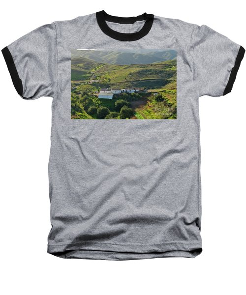 Village Hidden In The Mountains Baseball T-Shirt