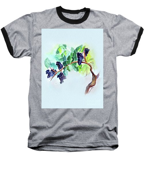 Vine And Branch Baseball T-Shirt