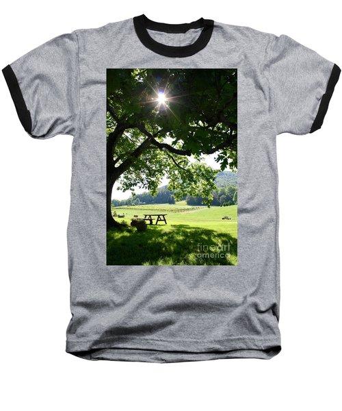 Vineyard In Georgia Baseball T-Shirt