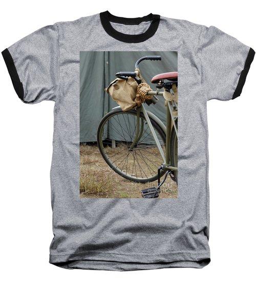 Vintage Bicycle World War II  Baseball T-Shirt