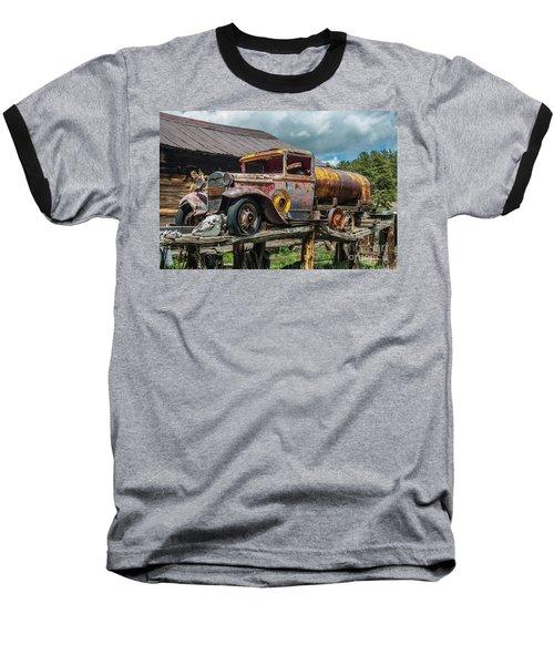Vintage Ford Tanker Baseball T-Shirt