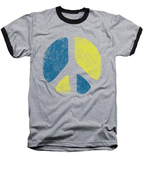 Vintage Peace Sign Baseball T-Shirt