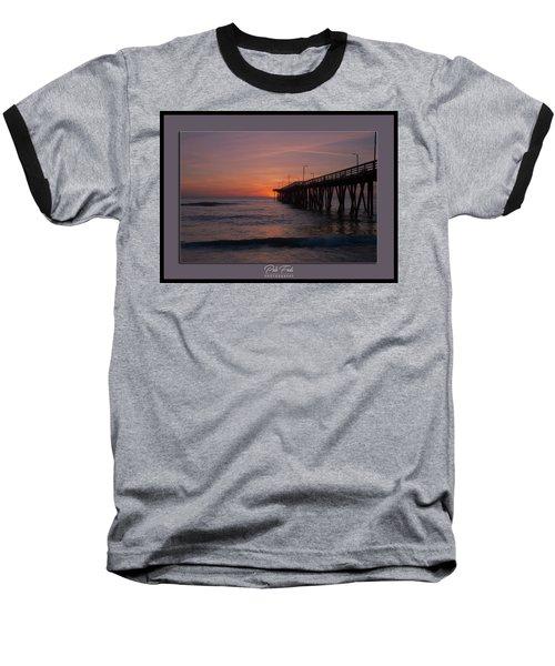 Virginia Beach Sunrise Baseball T-Shirt