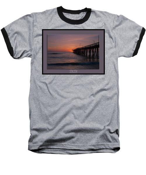 Virginia Beach Sunrise Baseball T-Shirt