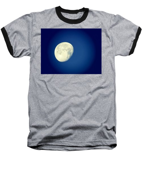 Baseball T-Shirt featuring the photograph Virgo Moon Three Quarters by Judy Kennedy