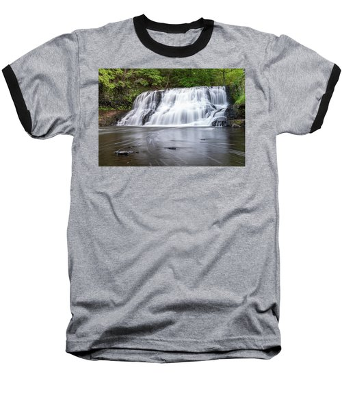 Wadsworth Falls In Middletown, Connecticut U.s.a.  Baseball T-Shirt