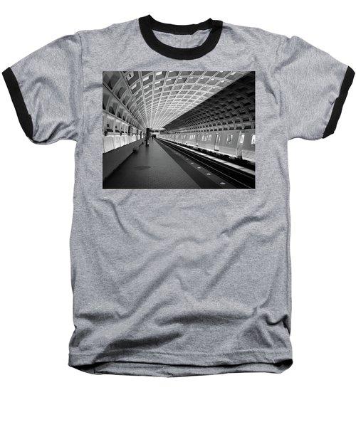 Waiting At Pentagon City Station Baseball T-Shirt
