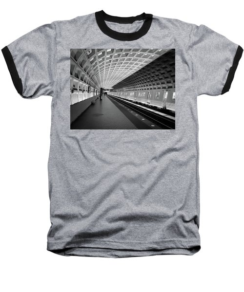 Waiting At Pentagon City Station Baseball T-Shirt