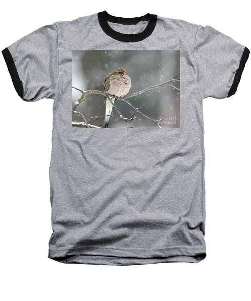 Waiting Out The Storm Baseball T-Shirt