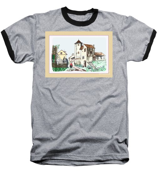 Walk Through Town Baseball T-Shirt