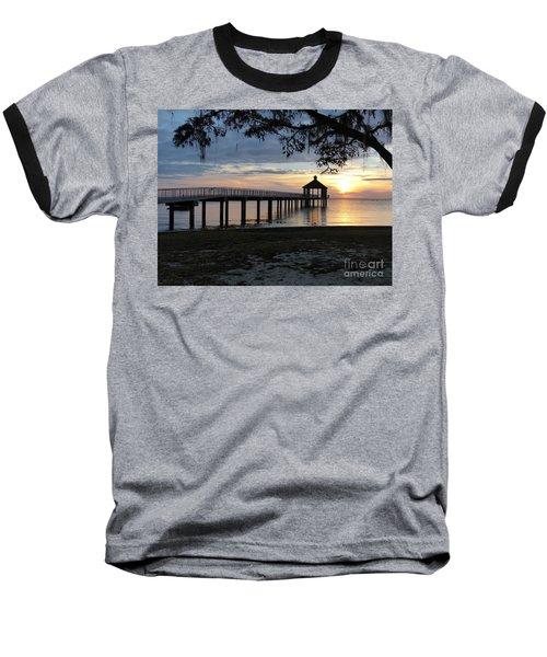 Walking Bridge To The Gazebo Baseball T-Shirt