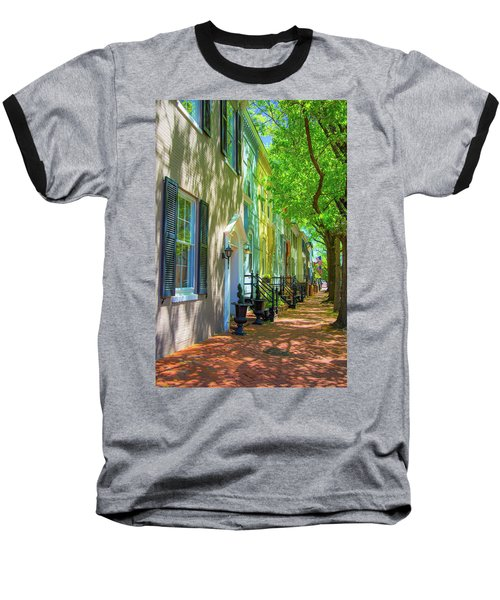 Walking On Duke Street Baseball T-Shirt