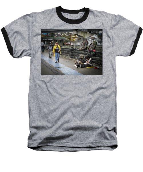 Walking-travellers Baseball T-Shirt