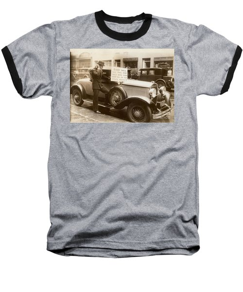 Wall Street Crash, 1929 Baseball T-Shirt