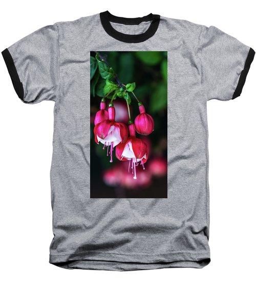 Wallpaper Flower Baseball T-Shirt