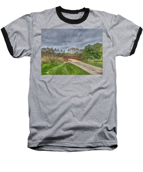 Walnut Woods Bridge - 2 Baseball T-Shirt