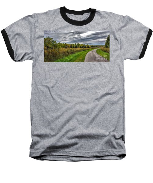 Walnut Woods Pathway - 2 Baseball T-Shirt