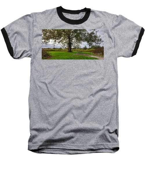 Walnut Woods Tree - 1 Baseball T-Shirt