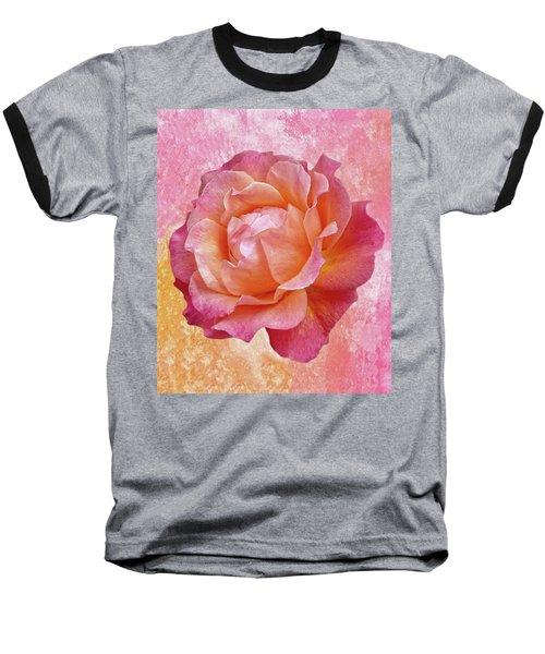 Warm And Crunchy Rose Baseball T-Shirt