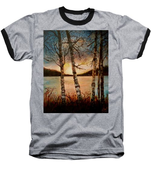 Warm Fall Day Baseball T-Shirt