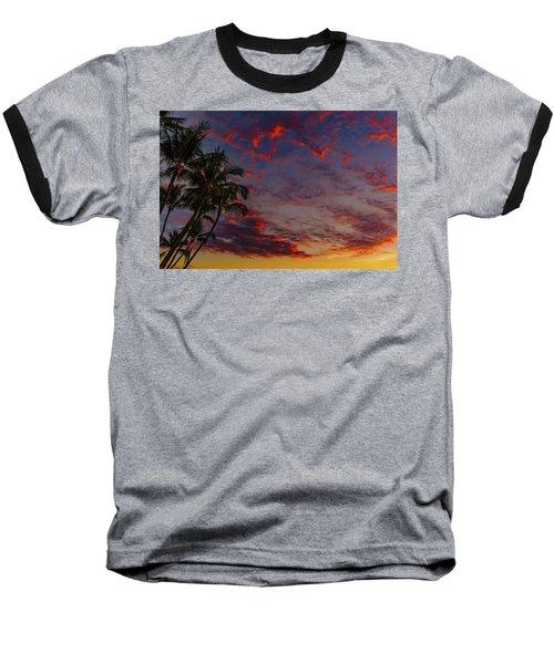 Warm Sky Baseball T-Shirt