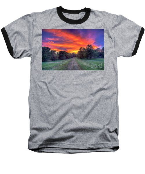 Warm Summer Night Baseball T-Shirt